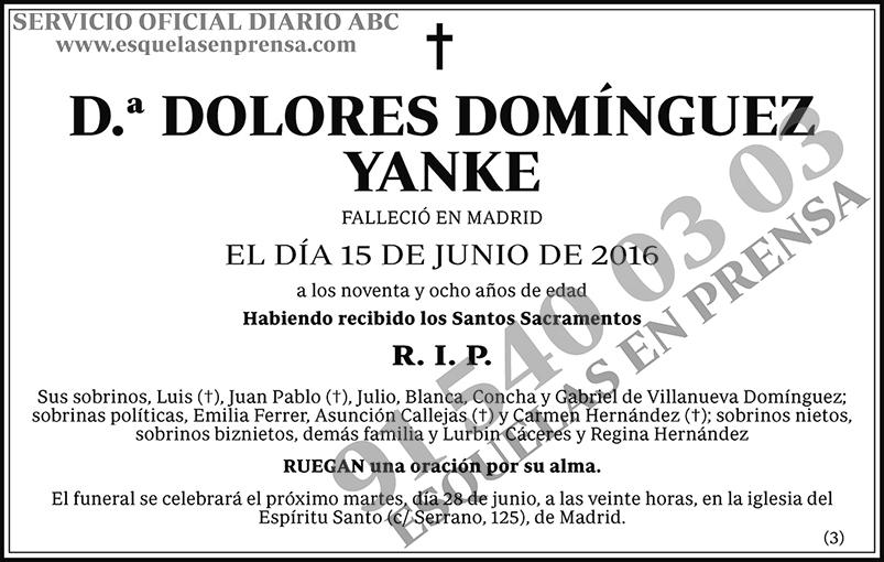 Dolores Domínguez Yanke